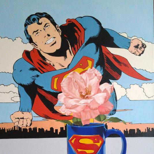 A caneca do Superman